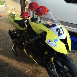 Bmw s1000rr race bike 2010