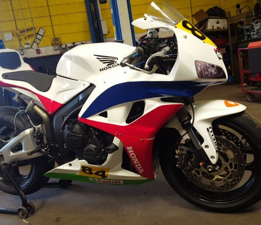 Honda cbr 600rr race bike